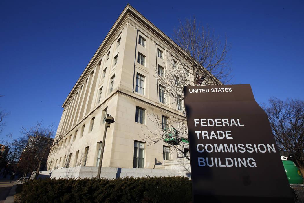 The Federal Trade Commission building in Washington,  Jan. 28, 2015.  (AP Photo/Alex Brandon, File)