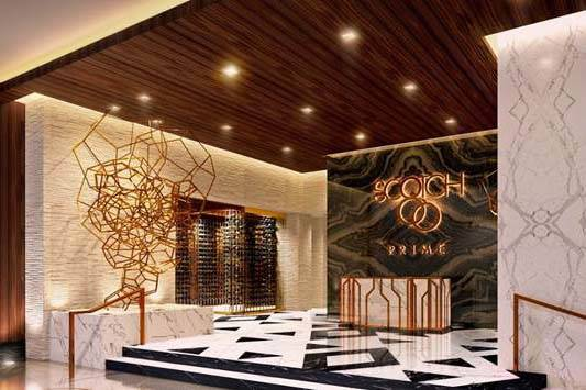 Artist's rendering of Scotch 80 Prime's entrance (Scotch 80 Prime)