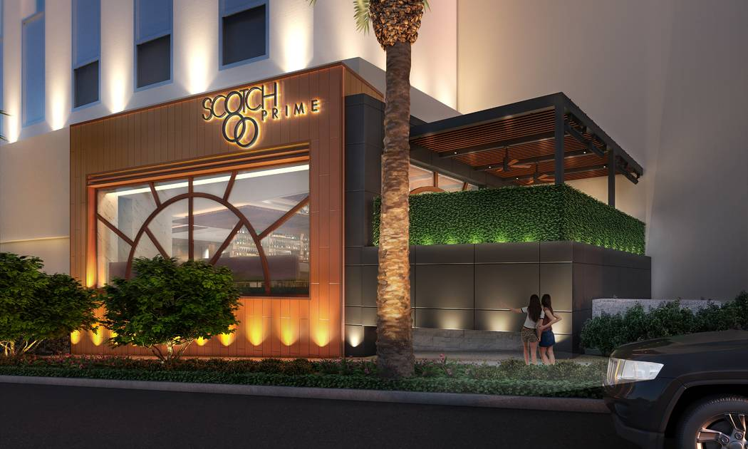 Artist's rendering of Scotch 80 Prime's exterior