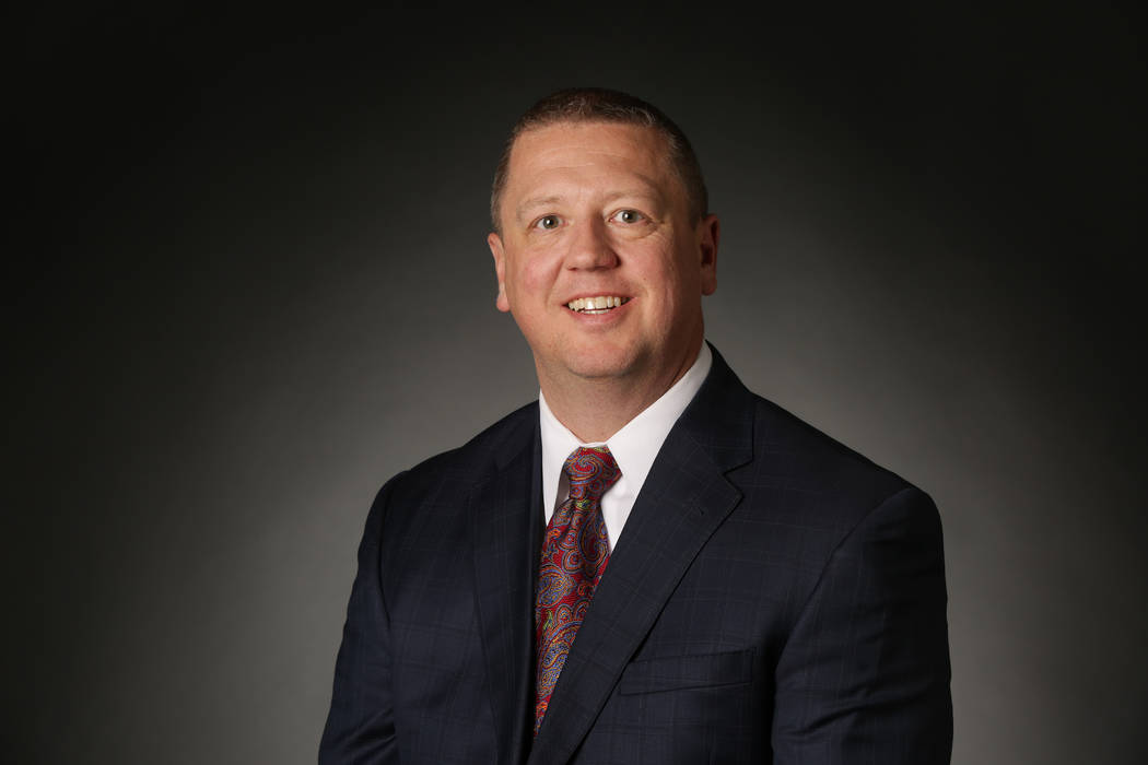 Chase Rankin joined the Review-Journal Monday as its new senior vice president for advertising. (Las Vegas Review-Journal)
