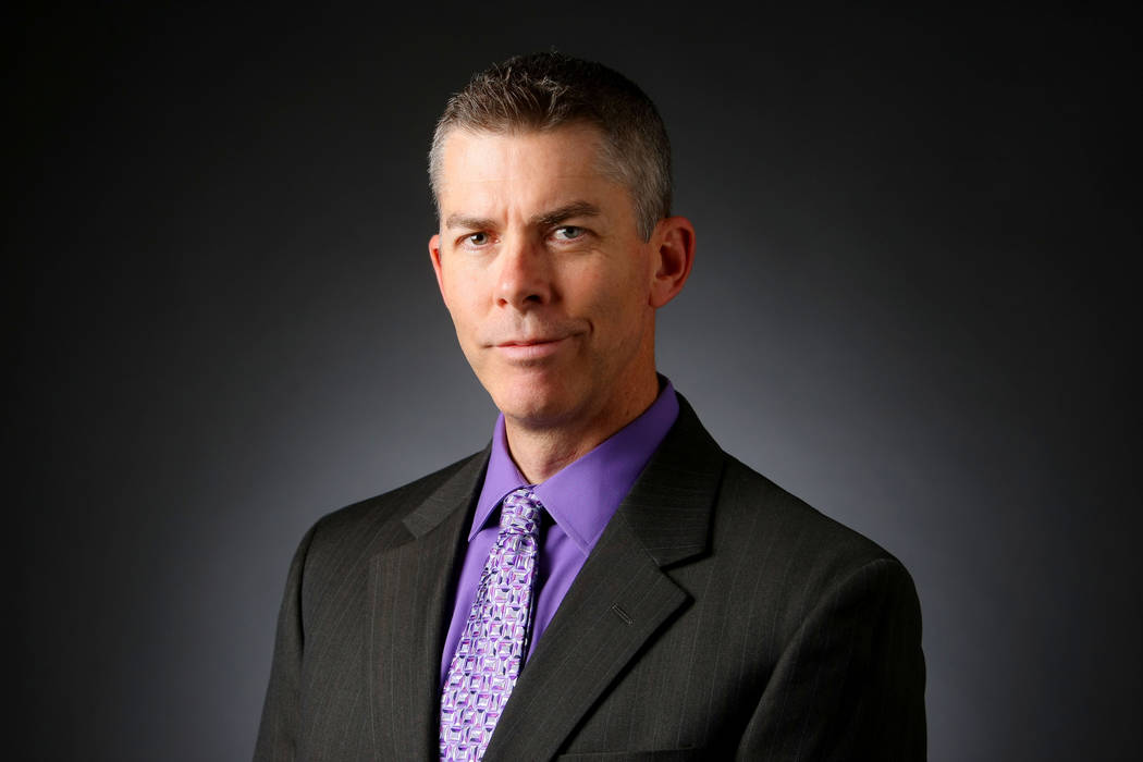 Glenn Cook has been named executive editor and vice president of news for the Las Vegas Review-Journal. (Elizabeth Brumley/Las Vegas Review-Journal)