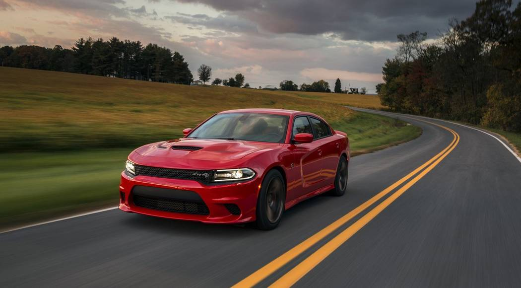 Dodge  The 2018 Dodge Charger SRT Hellcat is available at Chapman Dodge.