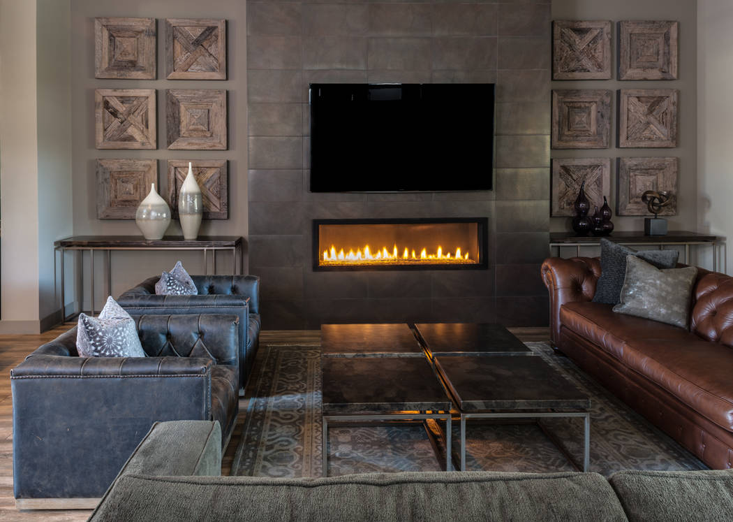 """SKG Designs During the Feb. 28 Design Wars workshop, Shelley Gorman of SKG Designs said, """"Fireplaces are great opportunities for 'wow' factors, and they aren't that expensive."""""""