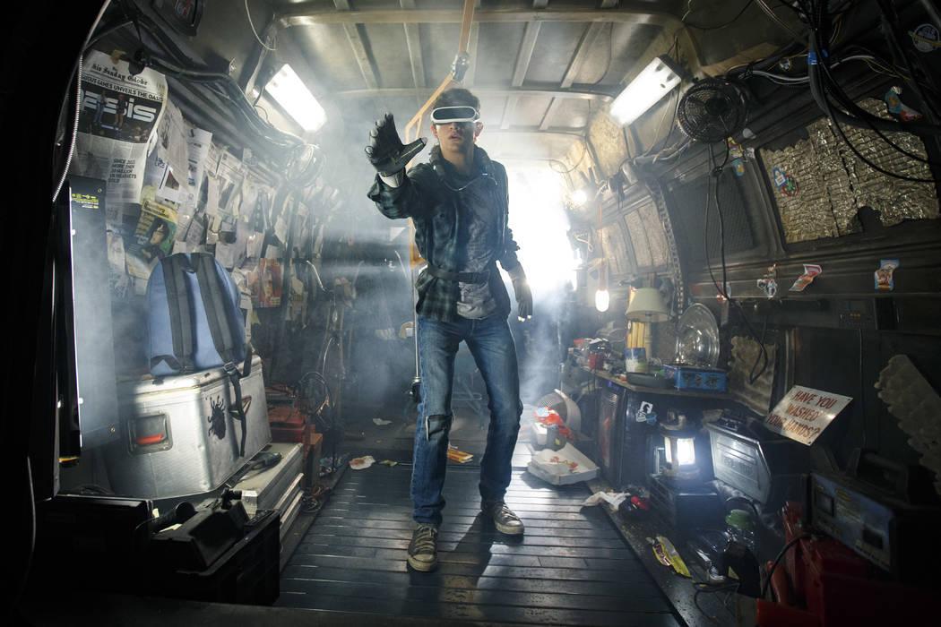 "Tye Sheridan as Wade in ""Ready Player One."" (Warner Bros. Pictures)"