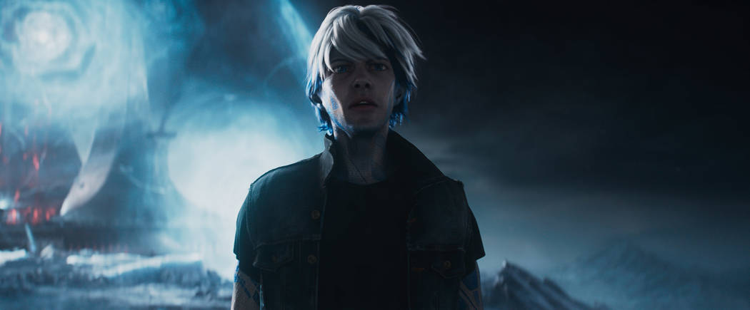 """Parzival voiced by Tye Sheridan as Wade in """"Ready Player One."""" (Warner Bros. Pictures)"""