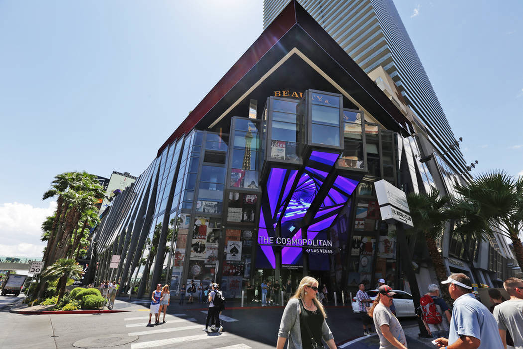 Cosmopolitan Turning Sports Book Area Into Food And Beverage Las