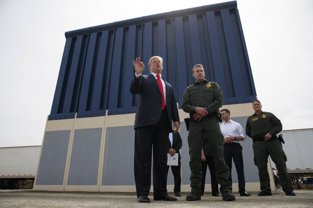 Trump Wants Pentagon to Pay for Border Wall