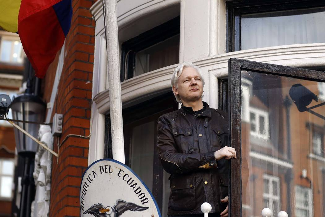 Ecuador cutting off internet connection for WikiLeaks founder Julian Assange