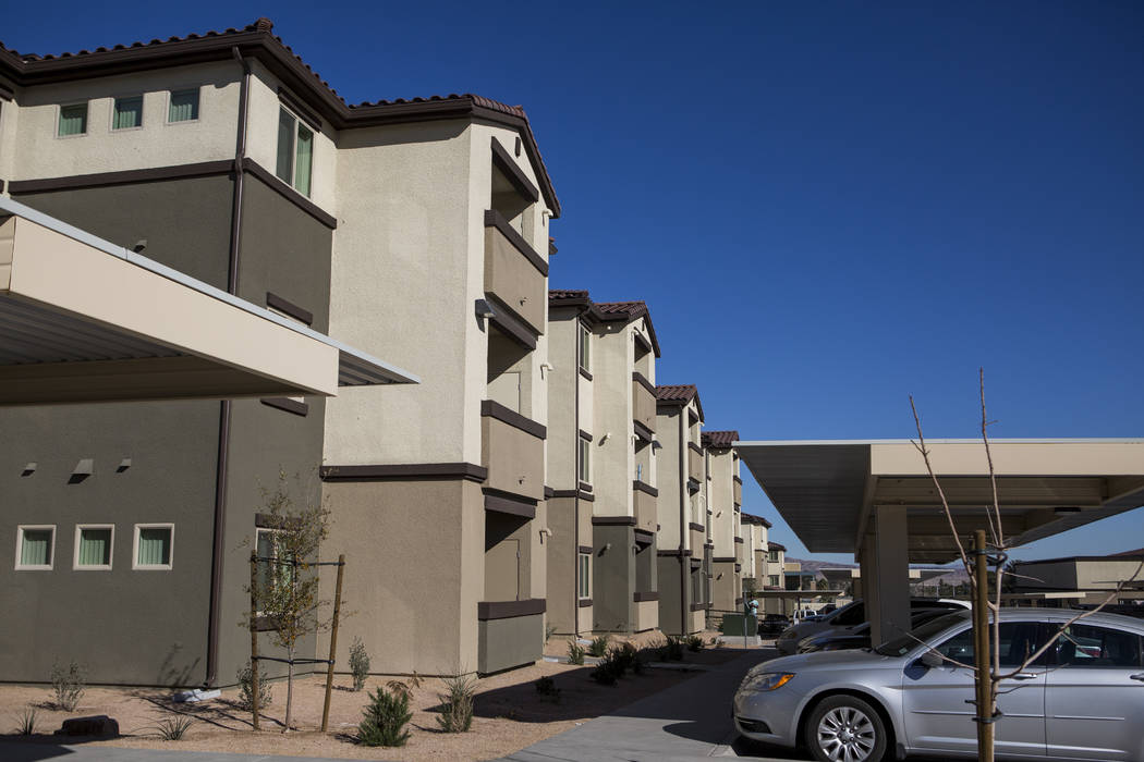 Boulder Pines Family Apartments on Boulder Highway in Las Vegas on Friday, Feb. 2, 2018.  (Patrick Connolly/Las Vegas Review-Journal) @PConnPie