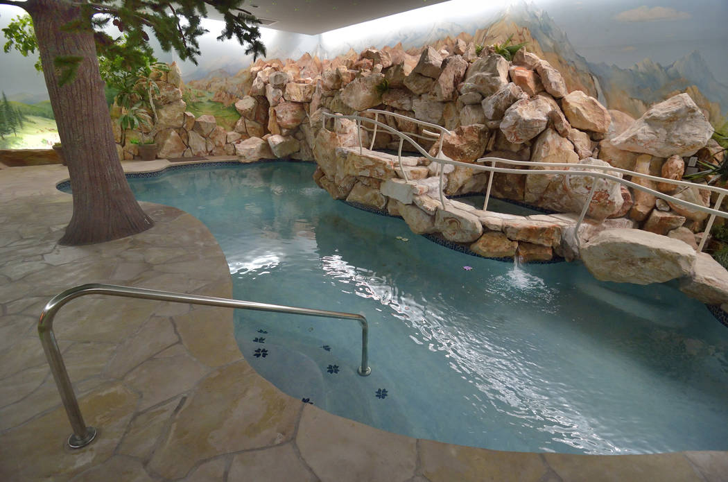 The pool. (Bill Hughes Real Estate Millions)