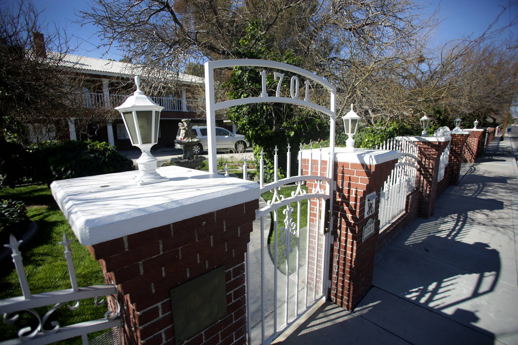 Jerry Lewis' familyhomeThursday, March 29, 2018. The two-storyhomeat 1701 Waldman Ave. in the Scotch 80s neighborhood in downtown Las Vegas is for sale for $1.4 million.&#x ...