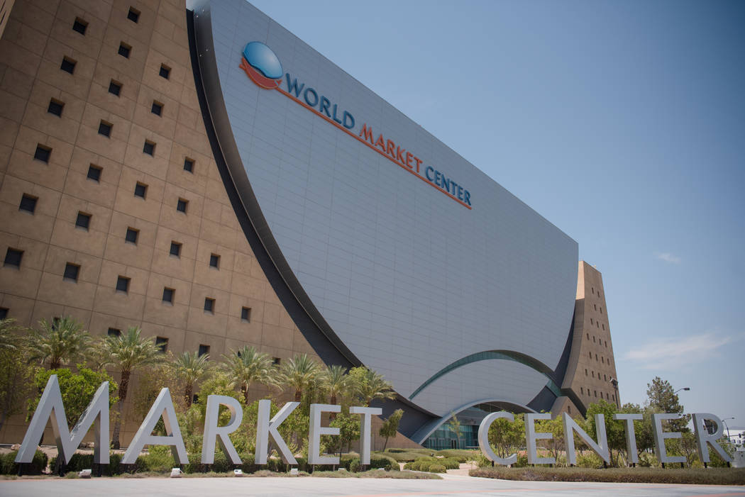 World Market Center on Friday, July 7, 2017, in Las Vegas. (Morgan Lieberman/Las Vegas Review-Journal)