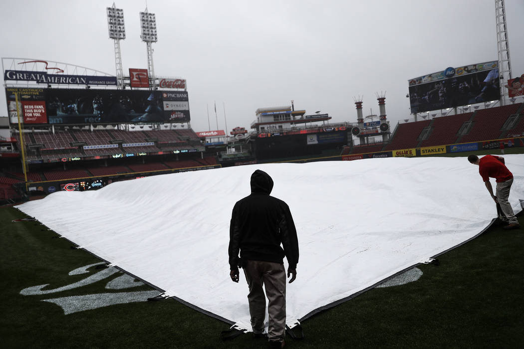 2 games rained out on Opening Day