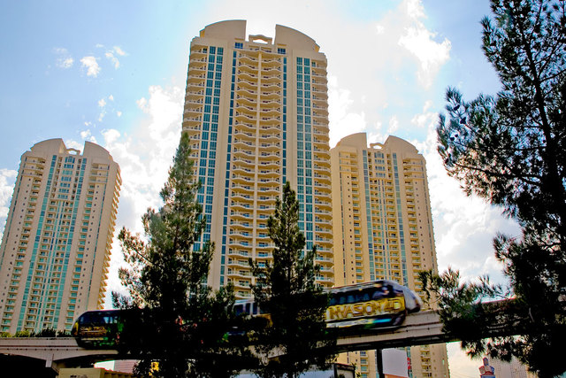 Turnberry Place on Paradise Road. (Review-Journal file photo)