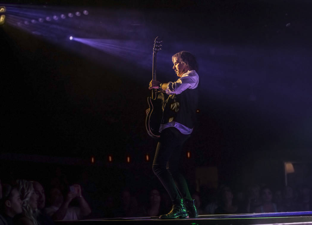 'Raiding the Rock Vault' classic rock revue on Monday, May 1, 2017, at the Hard Rock hotel-casino, in Las Vegas. Benjamin Hager Las Vegas Review-Journal @benjaminhphoto