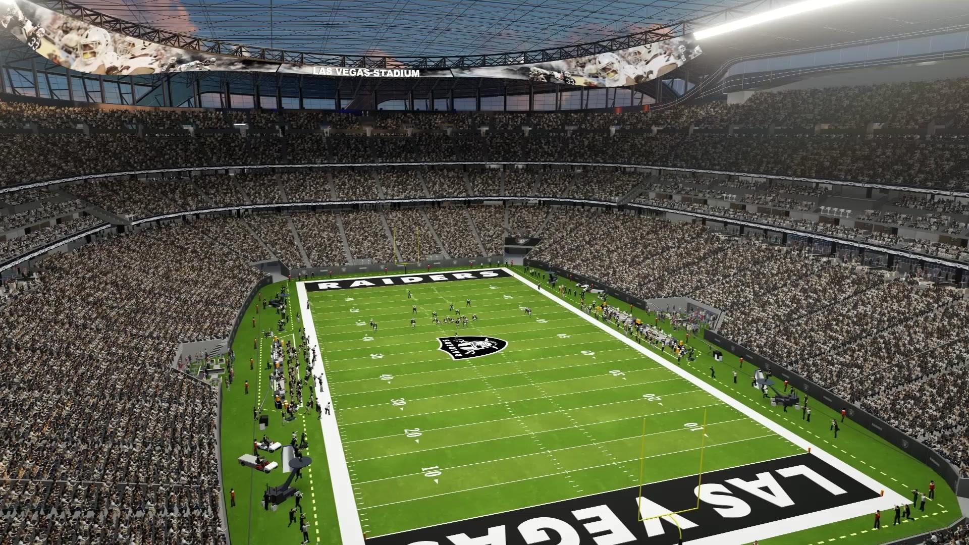Raiders Finalize 1 8b Deal With Las Vegas Stadium Authority Las Vegas Review Journal
