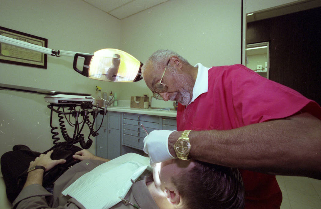 Dentist Dr. James McMillan played a part in integrating the Strip in the 1960s and was the head of NAACP Las Vegas. McMillan was also Nevada's first black dentist, starting his practice in Las Veg ...