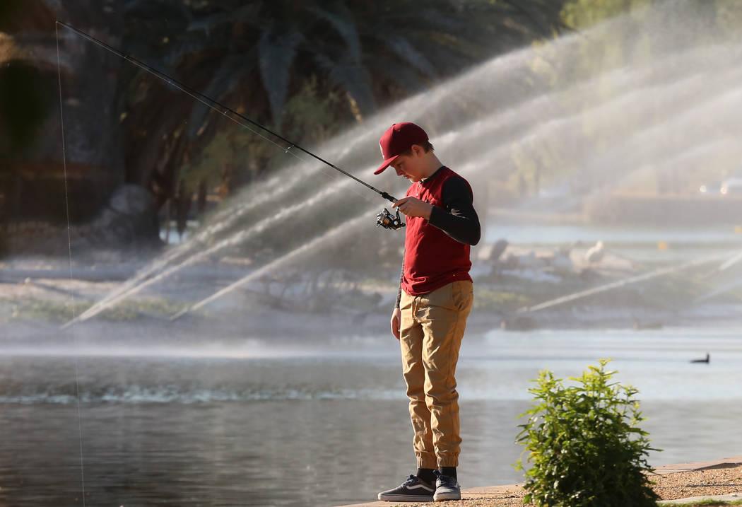 Nevada Fishing Report April 25 2018 Las Vegas Review