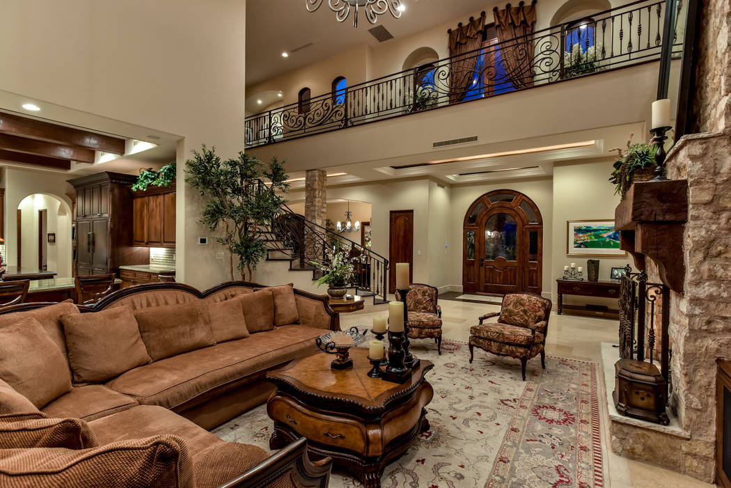The two story home has a Tuscan design. (Today's Realty Inc.)