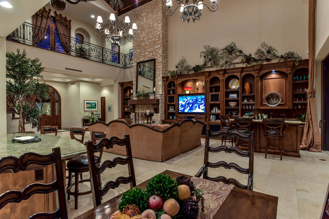 The family room. (Today's Realty Inc.)