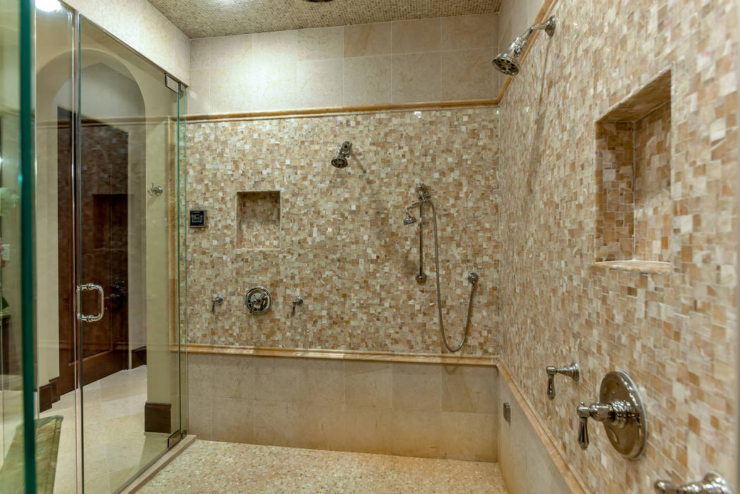 The shower in the master bath. (Today's Realty Inc.)