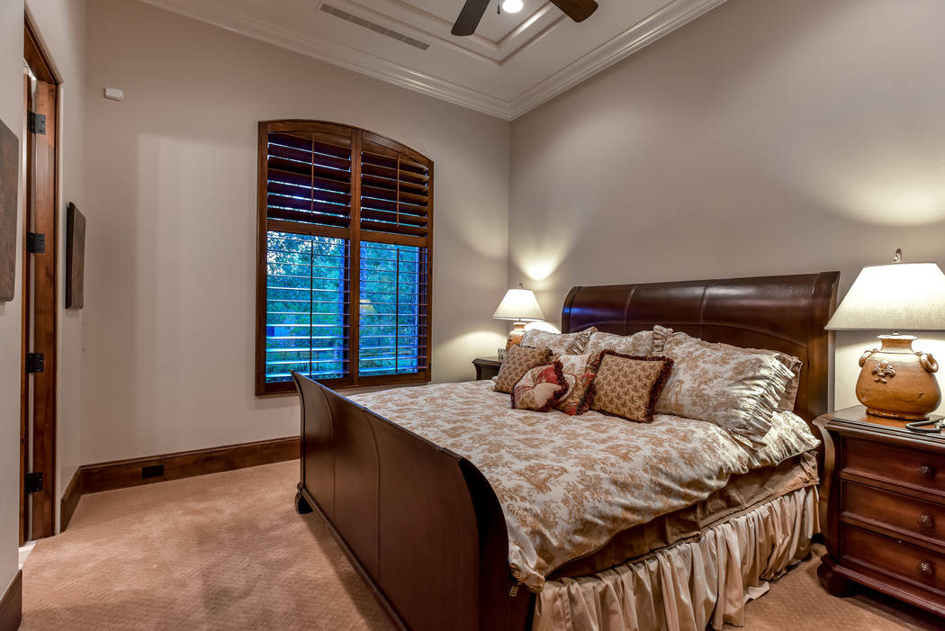 Bedroom in the casita. (Today's Realty Inc.)