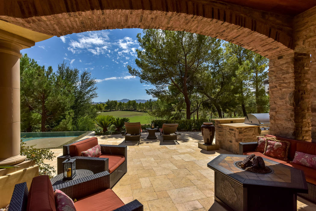 The home has views of the golf course. (Today's Realty Inc.)