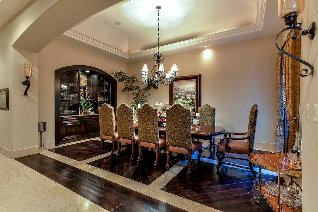 The formal dining room. (Today's Realty Inc.)