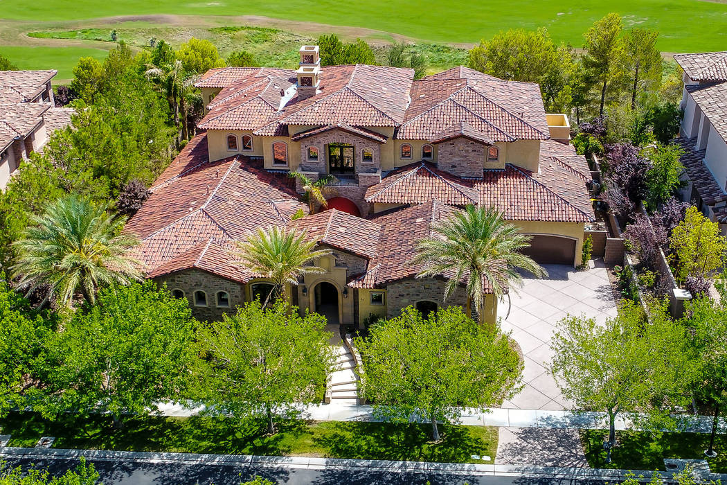 This 8,273-square-foot Southern Highlands home has listed for $3.975 million. (Today's Realty Inc.)