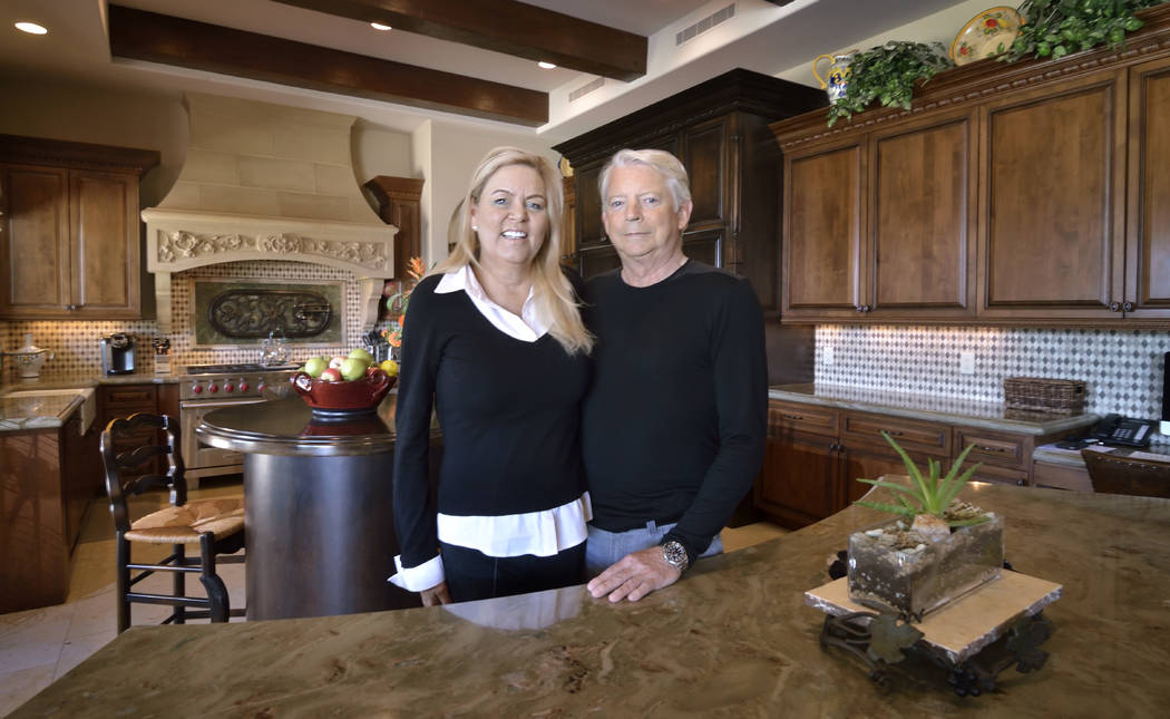 Laureen and Glenn McKay are shown at their home in Vintage Valley in Southern Highlands on March 14. (Bill Hughes Real Estate Millions)