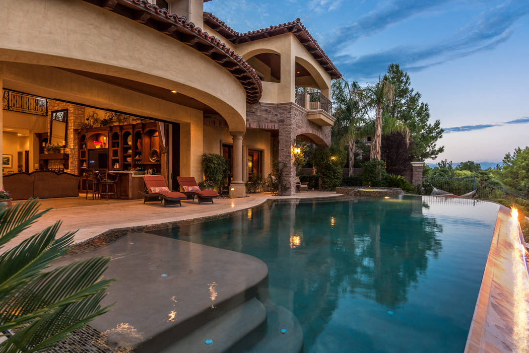 The home opens to the pool. (Today's Realty Inc.)