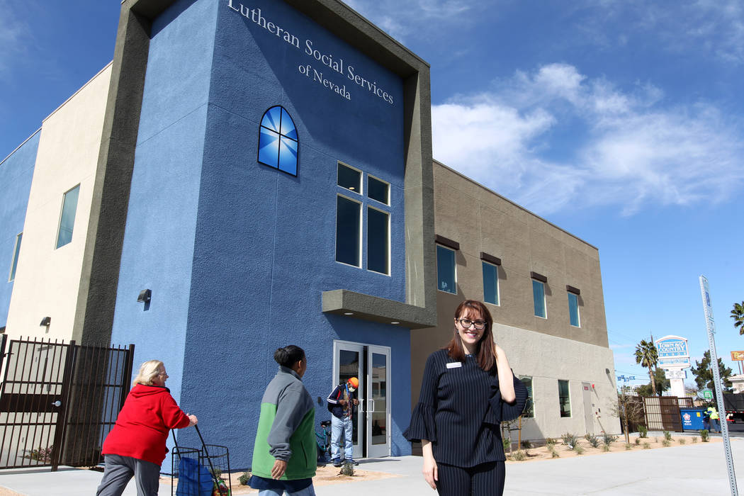 Armena Mnatsakanyan, executive director for Lutheran Social Services of Nevada, at the nonprofit's new $3.75 million headquarters at 4323 Boulder Highway in Las Vegas Monday, March 26, 2018. K.M.  ...
