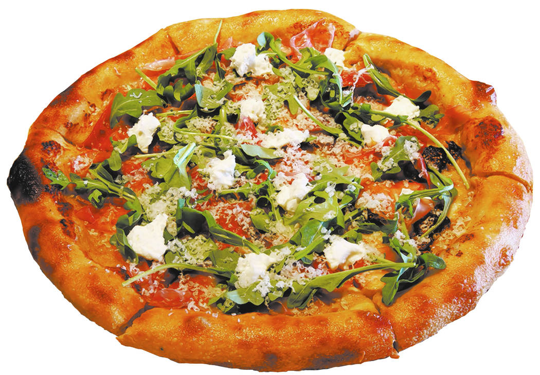 Proscuitto Pizza with fig, goat cheese, and arugula at North Italia in Summerlin Monday, April 2, 2018. K.M. Cannon Las Vegas Review-Journal @KMCannonPhoto