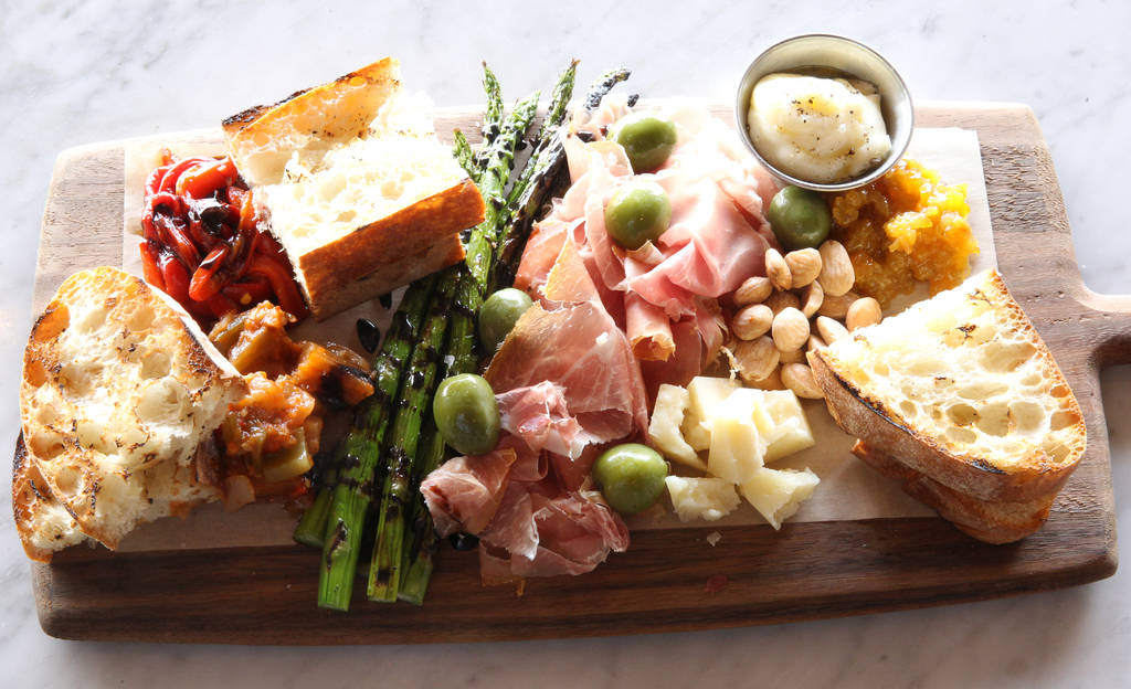 The ChefÕs Board at North Italia in Summerlin Monday, April 2, 2018. K.M. Cannon Las Vegas Review-Journal @KMCannonPhoto