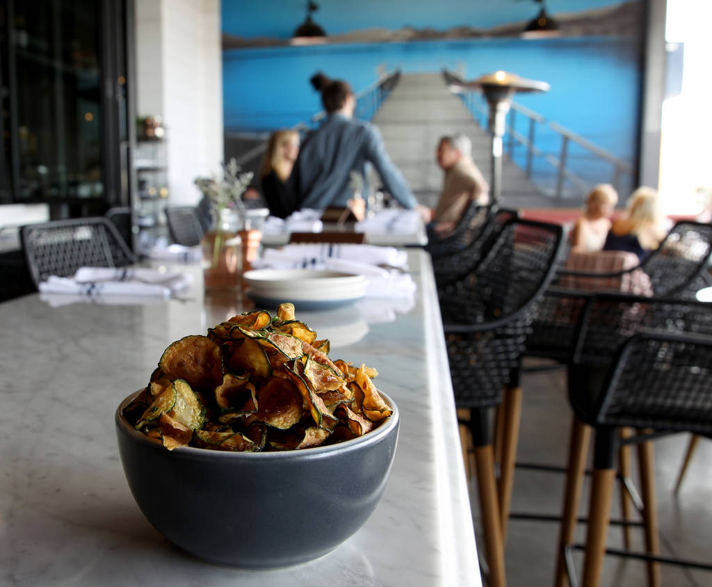 The Zucca Chips at North Italia in Summerlin Monday, April 2, 2018. K.M. Cannon Las Vegas Review-Journal @KMCannonPhoto