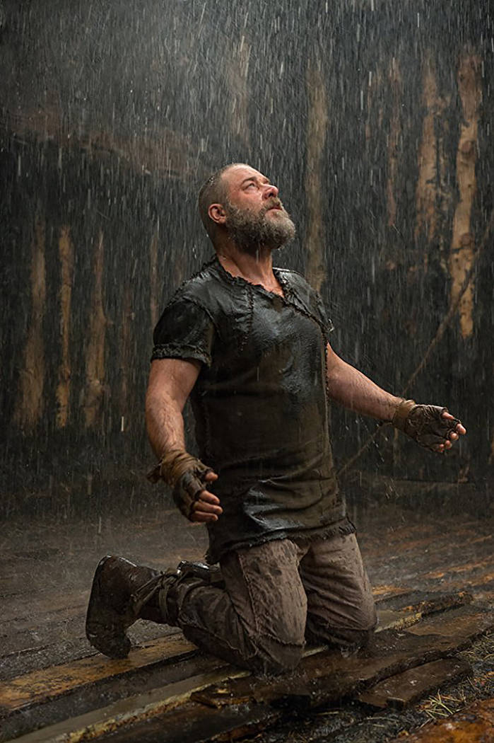 "Russell Crowe stars in the biblical disaster ""Noah."" (Paramount Pictures)"