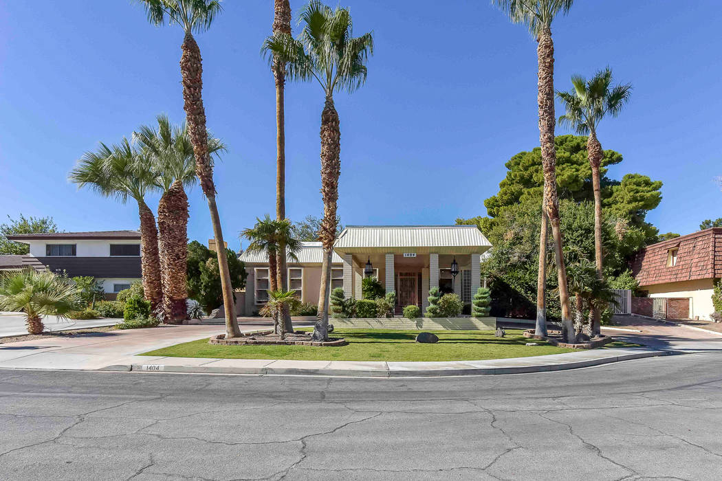 Berkshire Hathaway Home Services This historical home at 1404 Maria Elena Drive is on the market for $680,000.