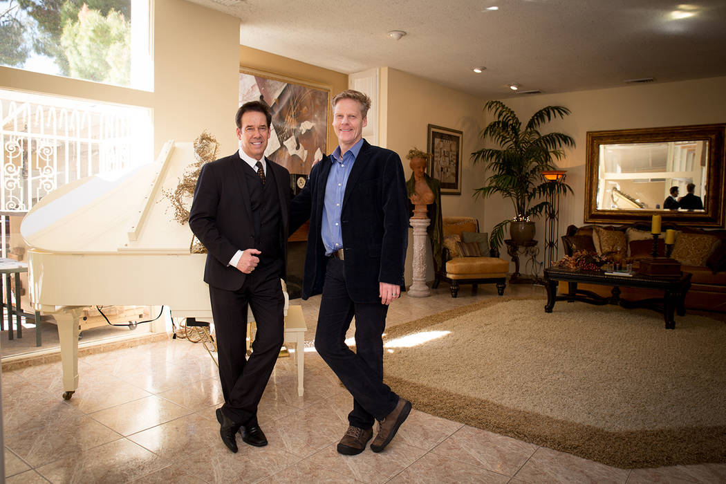 Owners of  Viva Las Vegas Wedding Chapel, Ron Decar and Jamie Richards, purchased the 1966 home that Arthur and Jayn Marshall of Marshall Rousso stores built. It is on the market for $680,000. (To ...