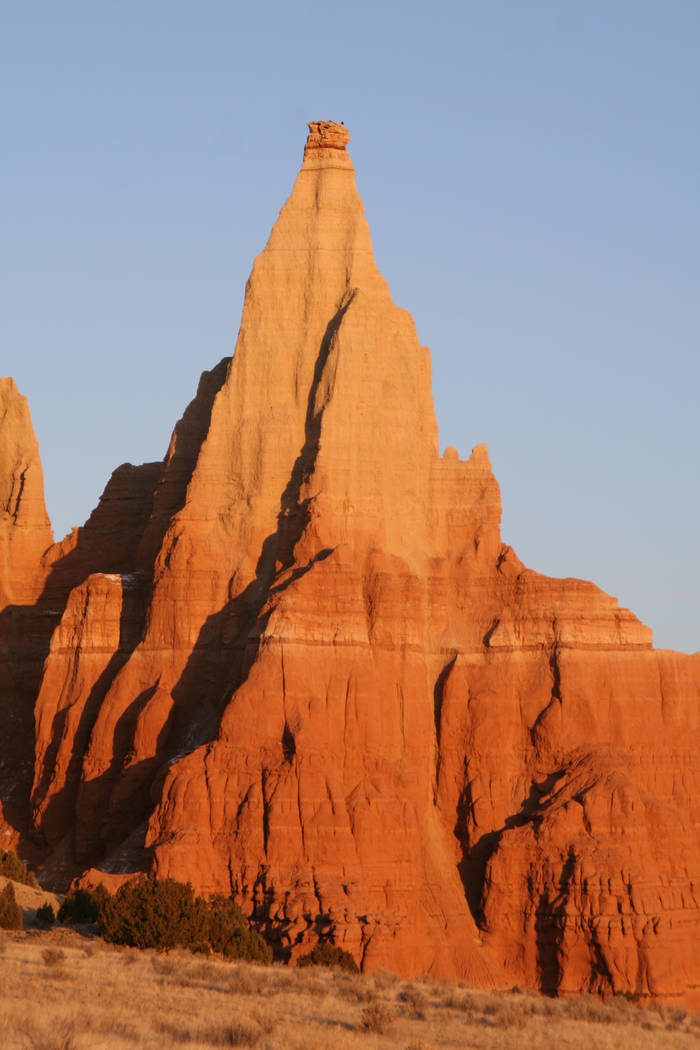 Kodachrome Basin State Park, Utah is home to 67 sedimentary sandpipes, a large arch and monolithic spires. (Deborah Wall)