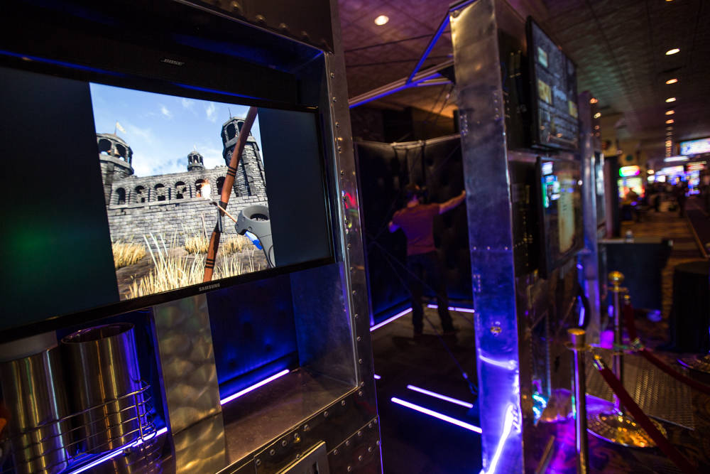 IGT's new virtual-reality game is seen on Friday, March 23, 2018, at The Orleans in Las Vegas. Todd Prince Review-Journal