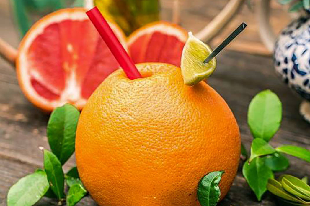 Twisted Grapefruit cocktail (Park on Fremont)