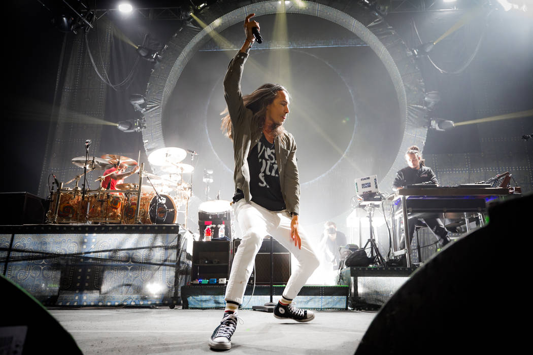 Incubus performs at The Joint at Hard Rock Hotel & Casino in Las vegas on February 2, 2018. (Erik Kabik Photography/ MediaPunch)