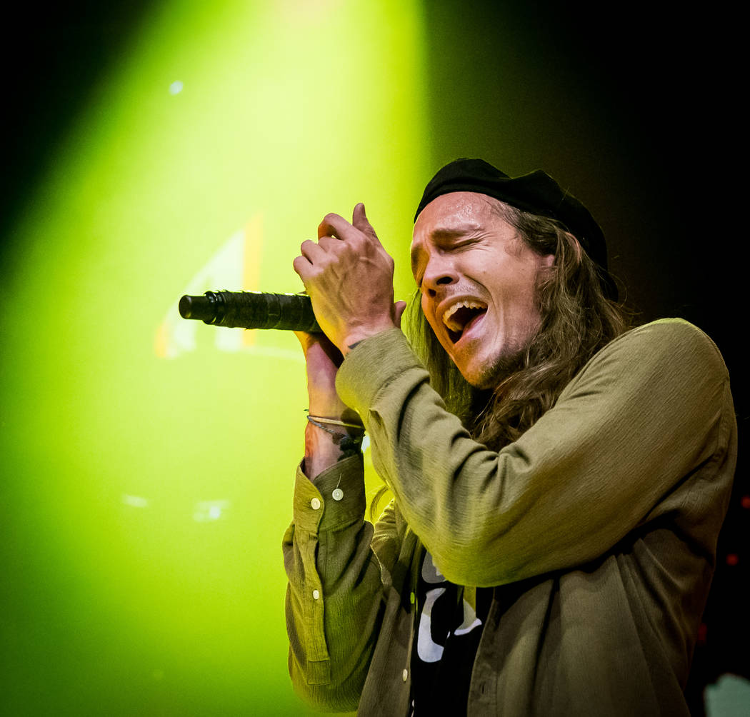 Incubus performs at The Joint at Hard Rock Hotel & Casino in Las Vegas on February 2, 2018. (Erik Kabik Photography/MediaPunch)