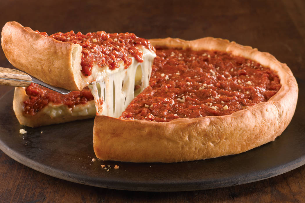 Las Vegas' newest Chicago deep-dish import is offering free slices for National Deep Dish Pizza Day. Giordano's Pizza