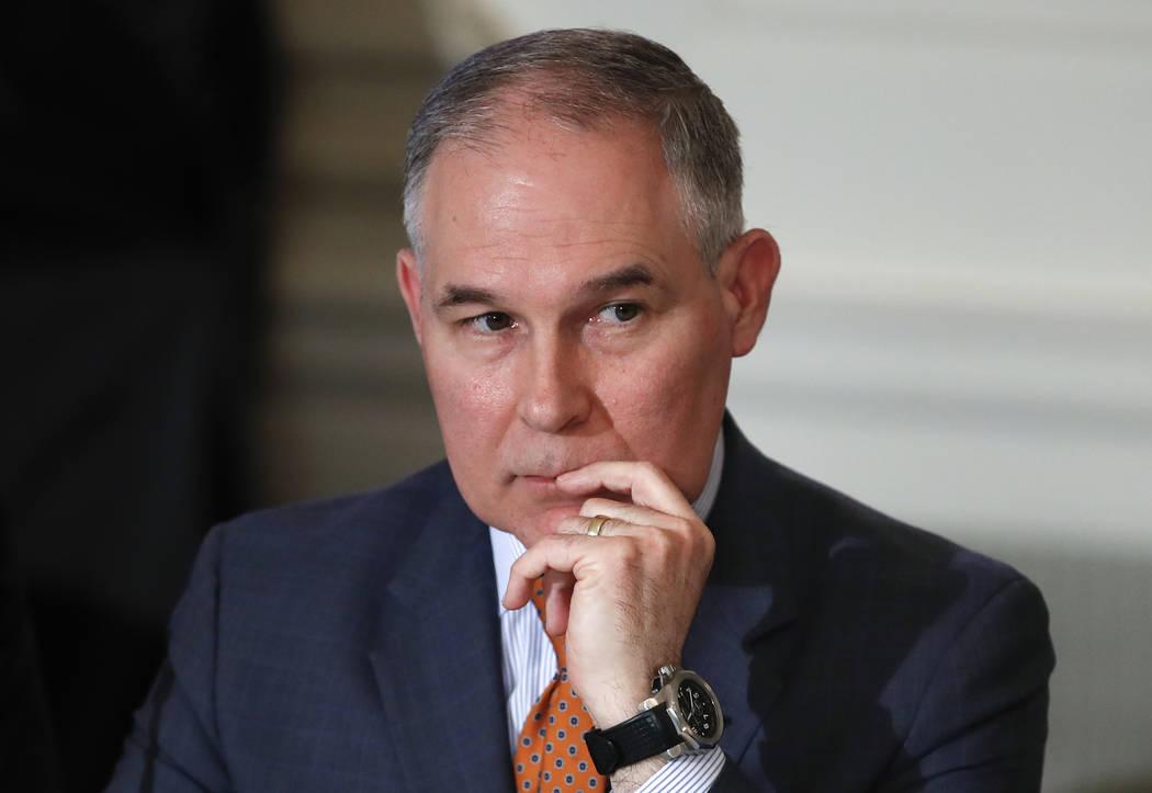 Environmental Protection Agency Administrator Scott Pruitt. (AP Photo/Carolyn Kaster)