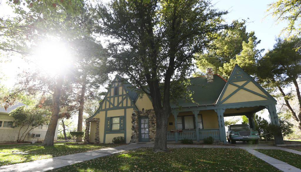 "The Goumond house at the Clark County Museum in Henderson on Wednesday, April 4, 2018. The museum is featuring an exhibition called ""50 Years of Preserving History: Celebrating the Golden Ann ..."