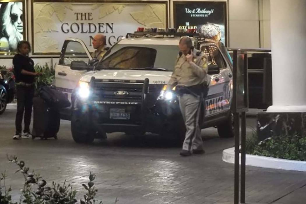 Las Vegas police are investigating a stabbing that took place Thursday moring at the Golden Nugget in downtown Las Vegas.