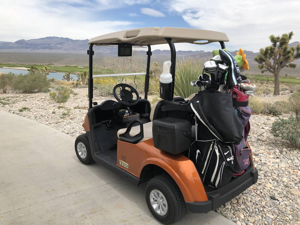 "The Las Vegas Paiute Golf Resort recently went ""green"" with environmentally-friendly golf carts, plus the three Pete Dye signature golf courses were at the top of the GolfAdvisor.com reader-review ..."