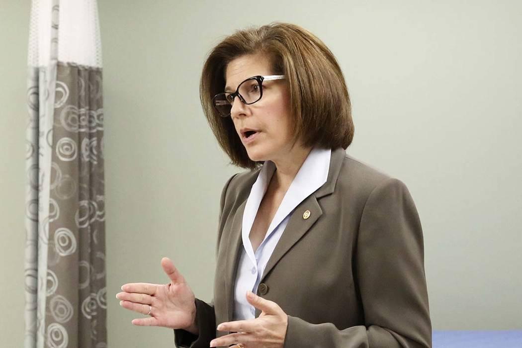U.S. Sen. Catherine Cortez Masto, D-Nev. (Bizuayehu Tesfaye/Las Vegas Review-Journal) @bizutesfaye