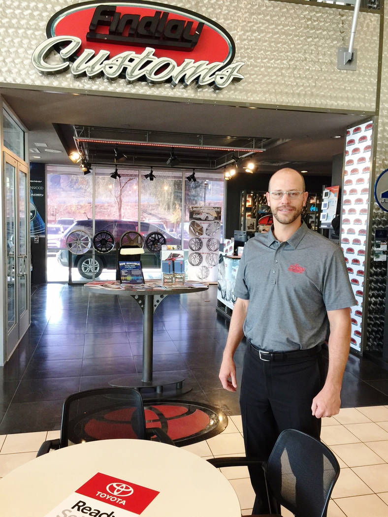 Findlay Findlay Automotive Group Director of Operations Robby Findlay was recently named to the list of 40 Under 40 executives by Vegas Inc.